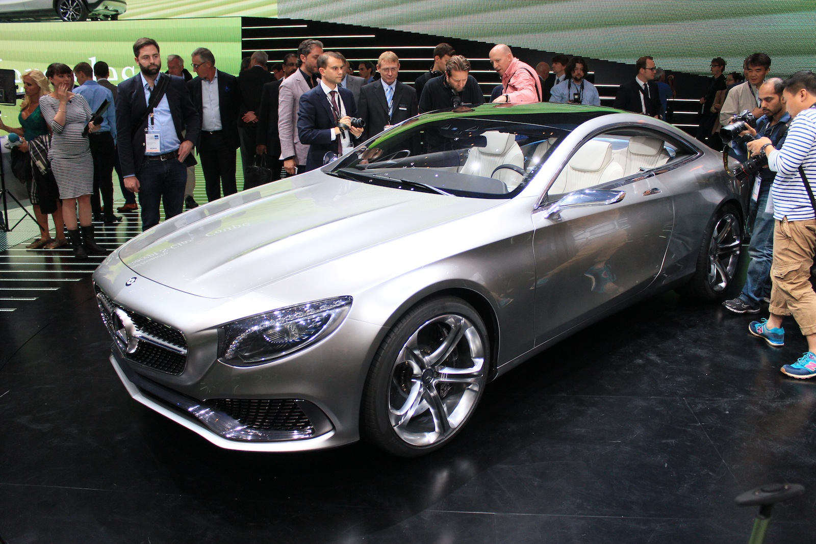 mercedes benz concept s class coupe full details live photos and video. Black Bedroom Furniture Sets. Home Design Ideas