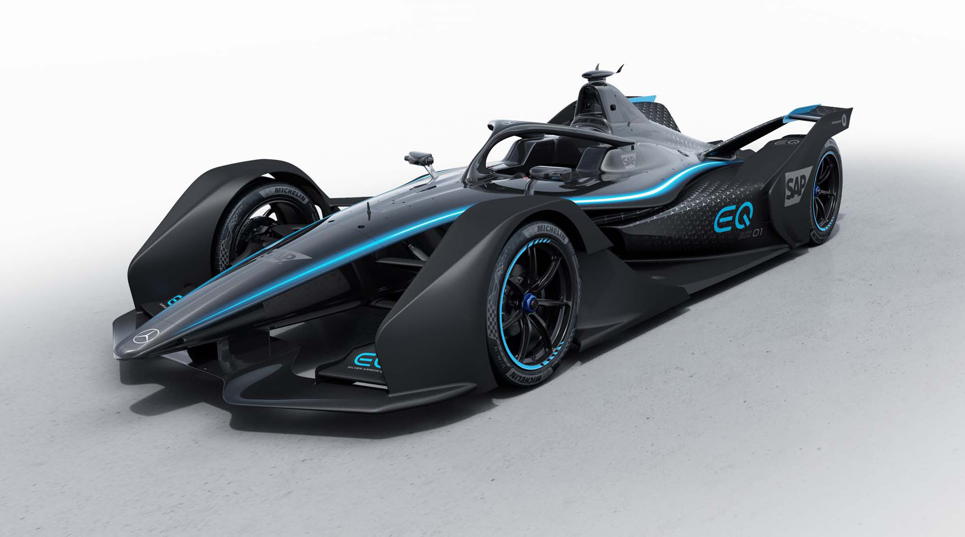 Mercedes gears up for Formula E with Silver Arrow 01 race ...
