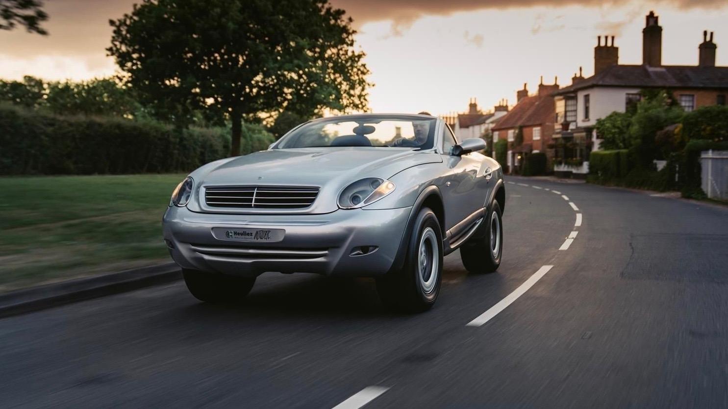 Mercedes G-Wagen Intruder is part G-Class, part SLK, all strange