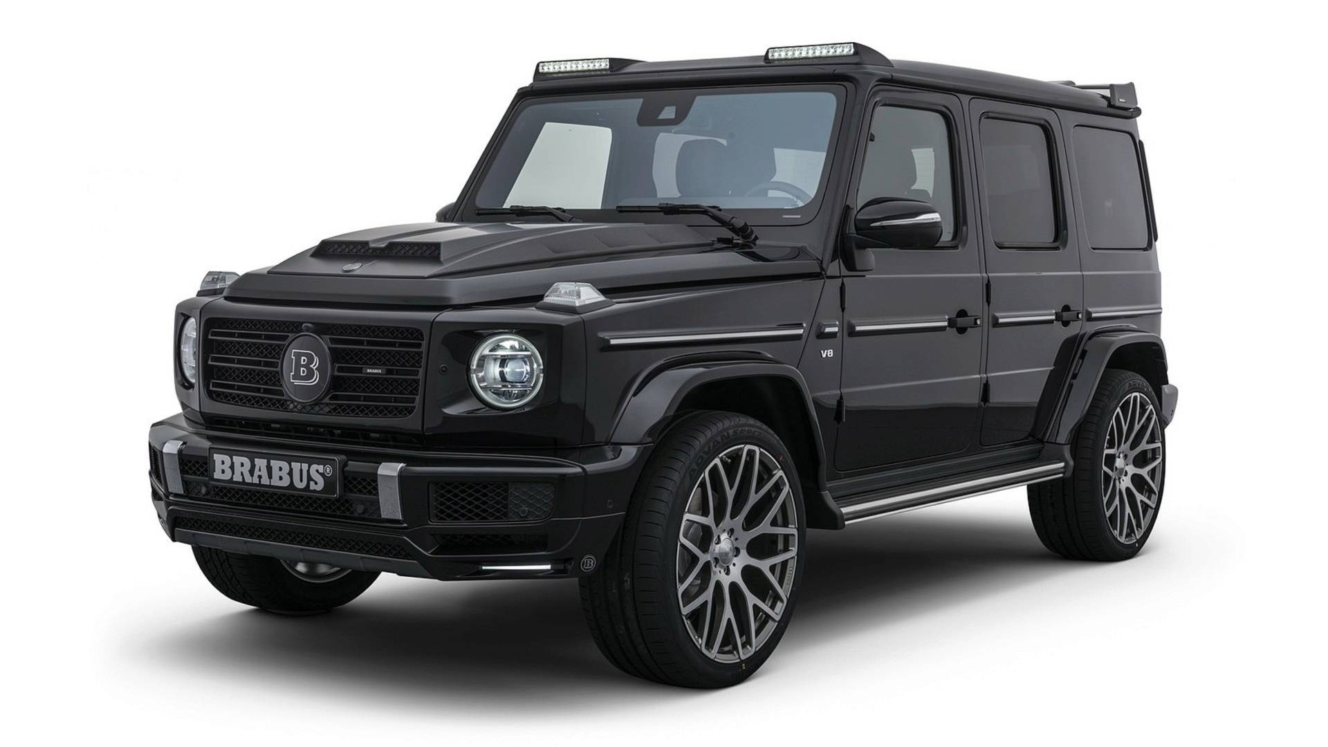 brabus tuned 2019 mercedes benz g class turns up the power, baffles