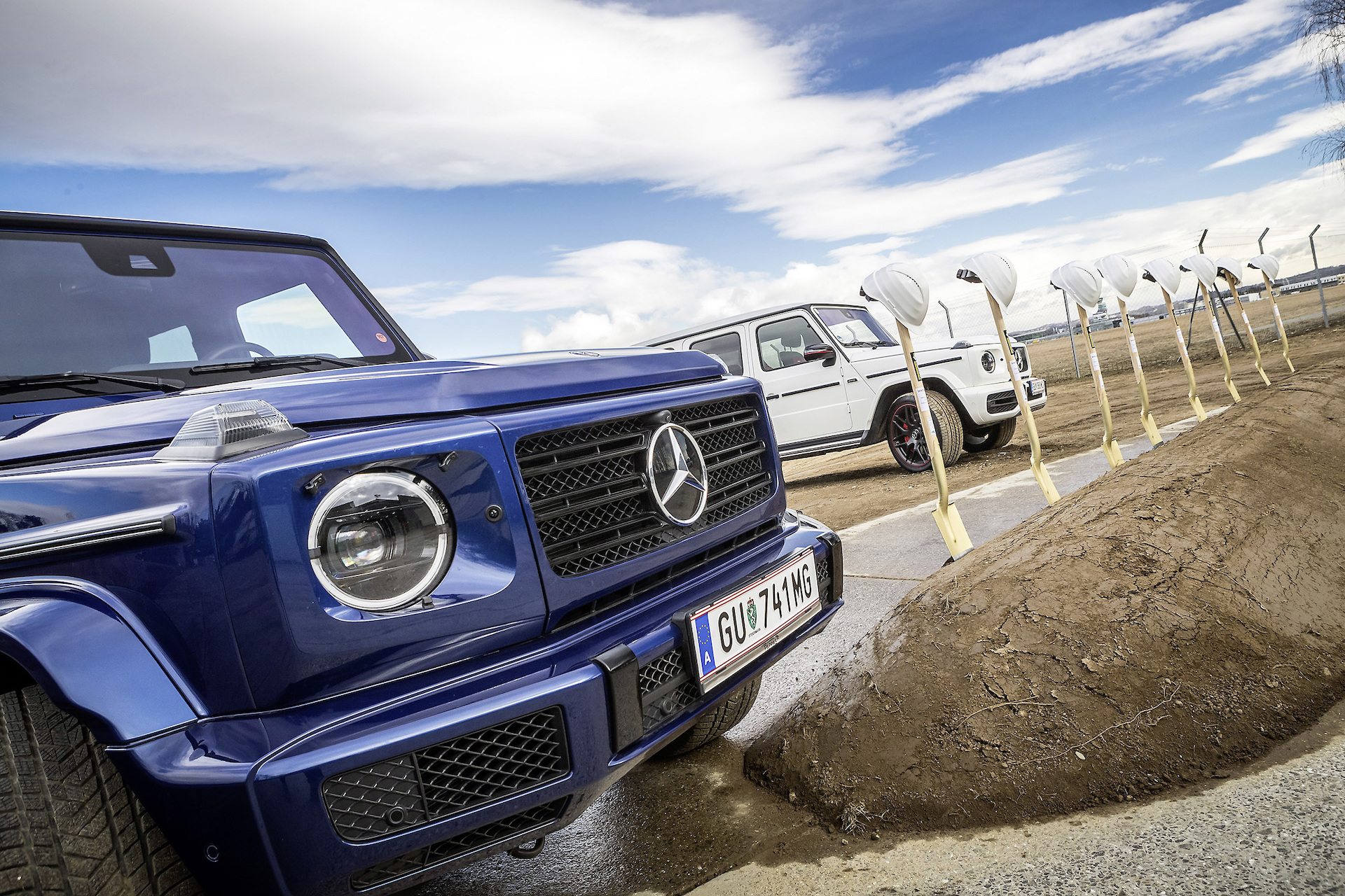 Off-road playpen: Mercedes-Benz breaks ground on G-Class experience