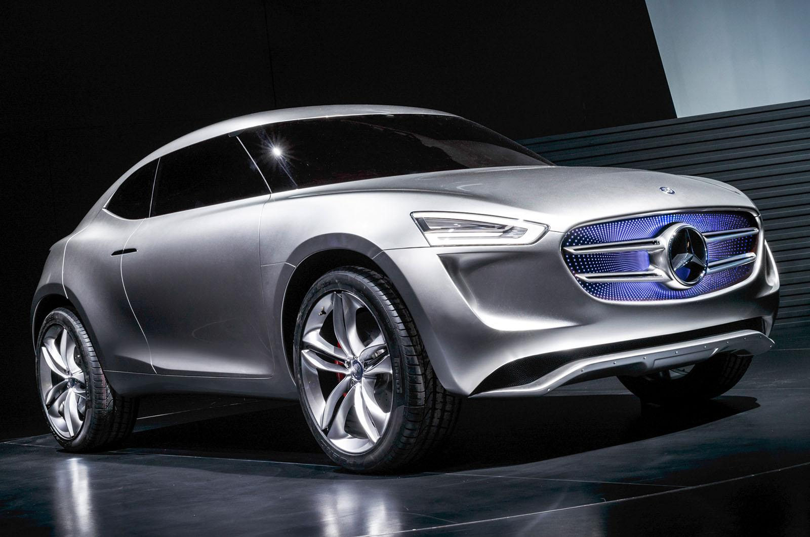 Mercedes benz reveals g code subcompact crossover concept for Mercedes benz small car