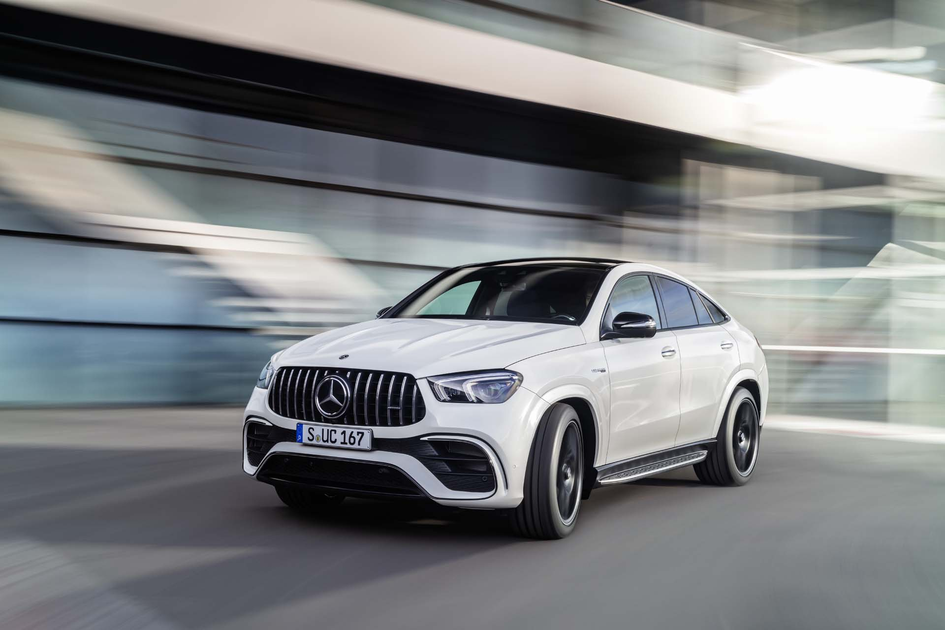 2021 Mercedes-AMG GLE63 S Coupe arrives with 603 horsepower and more bragging rights
