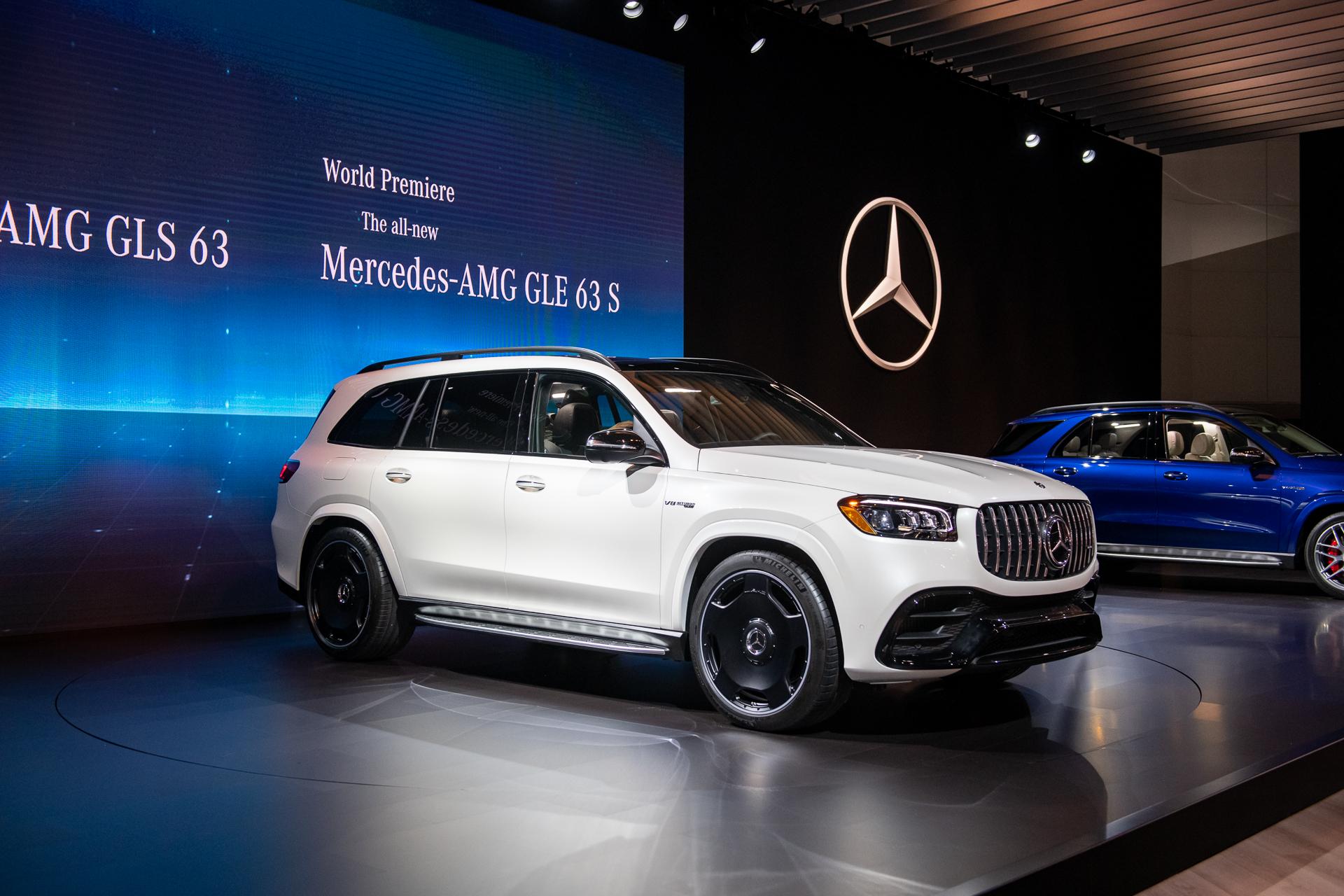 2021 Mercedes Benz Gle 63 Amg Gls 63 Amg Pair Fire Breathing V 8 To Mild Hybrid Powertrains