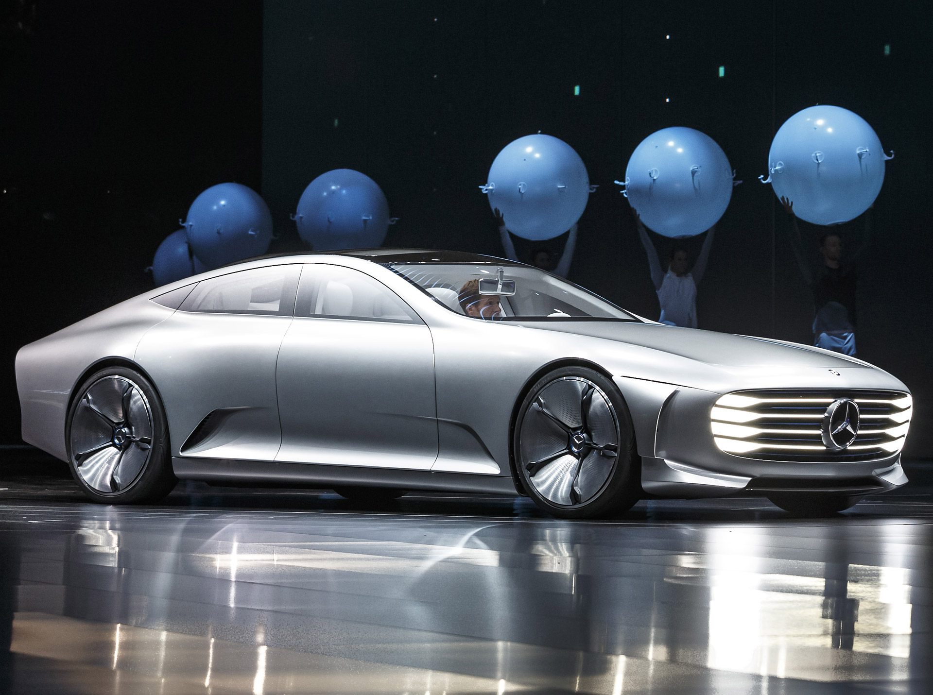 Report Mercedes Electric Car Platform To Spawn Four New Models