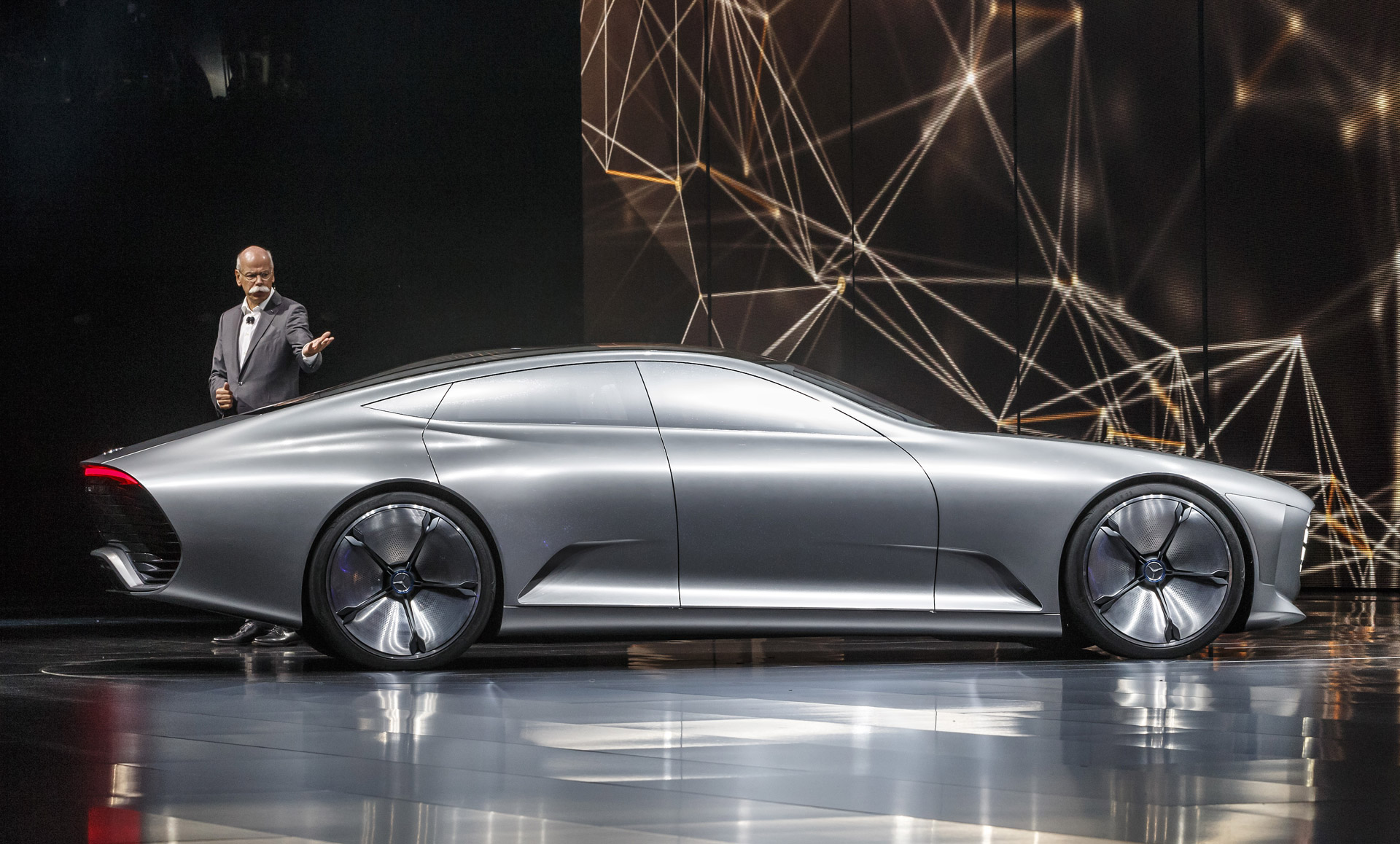 Mercedes Benz Intelligent Aerodynamic Automobile Concept Revealed