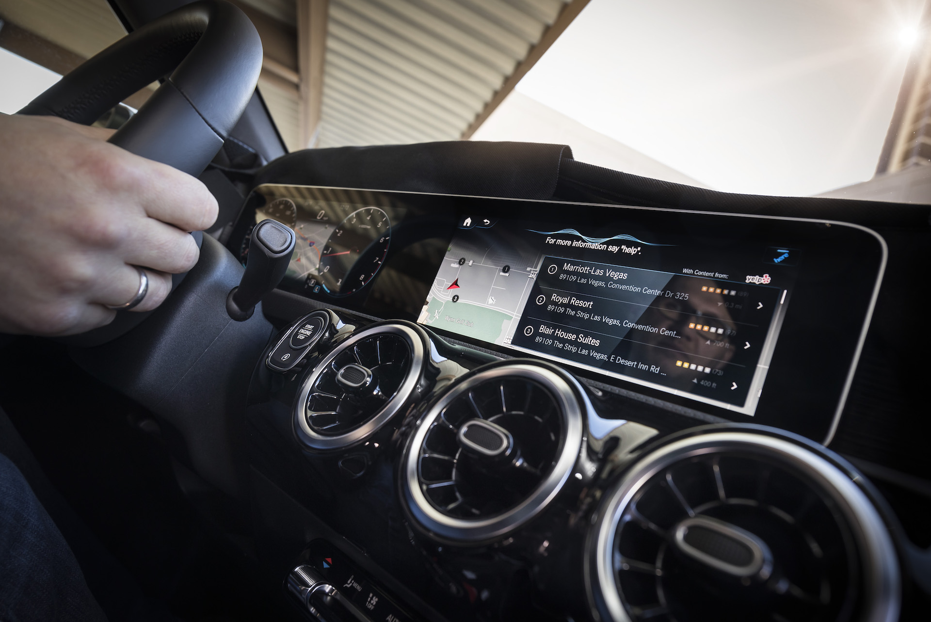 mercedes' new mbux infotainment system is like google assistant for