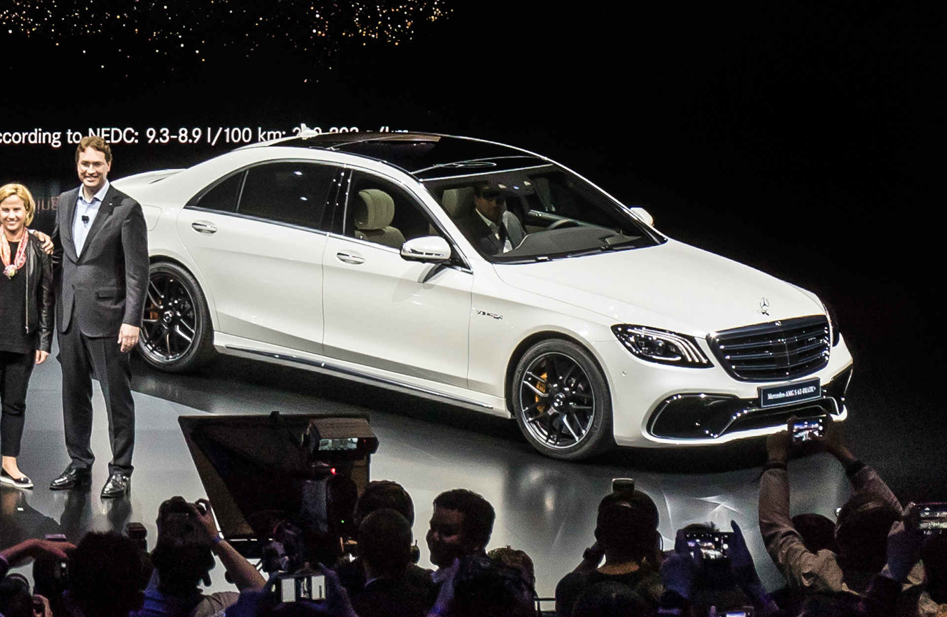 Mercedes Amg Pumps S63 To 603 Horsepower With Smaller Engine