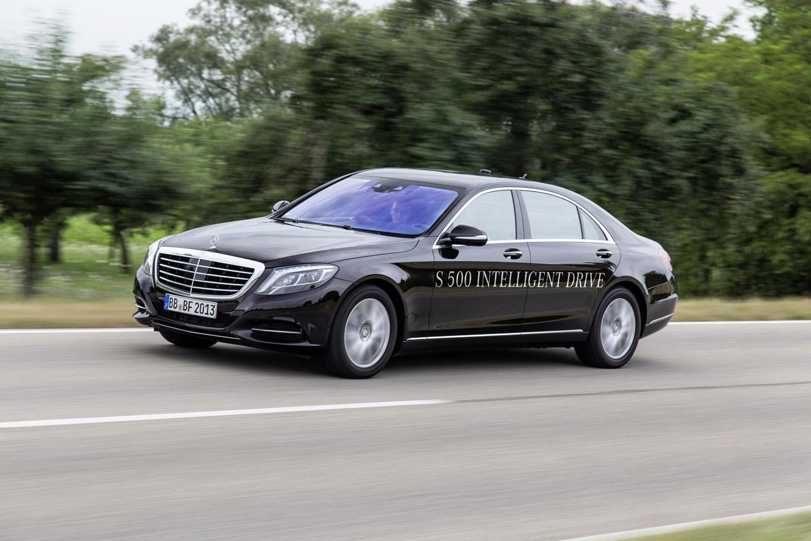 Mercedes Demonstrates Fully Autonomous S-Class, Promises Production Version By 2020: Video