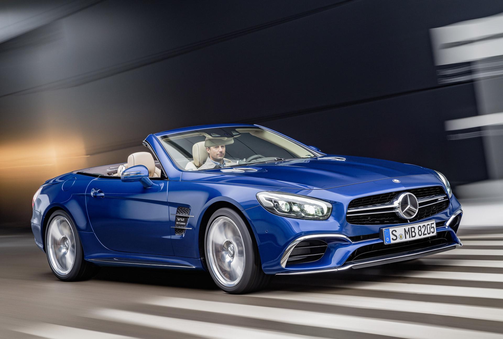 AMG's SL73 nameplate to return as 805-hp hybrid?