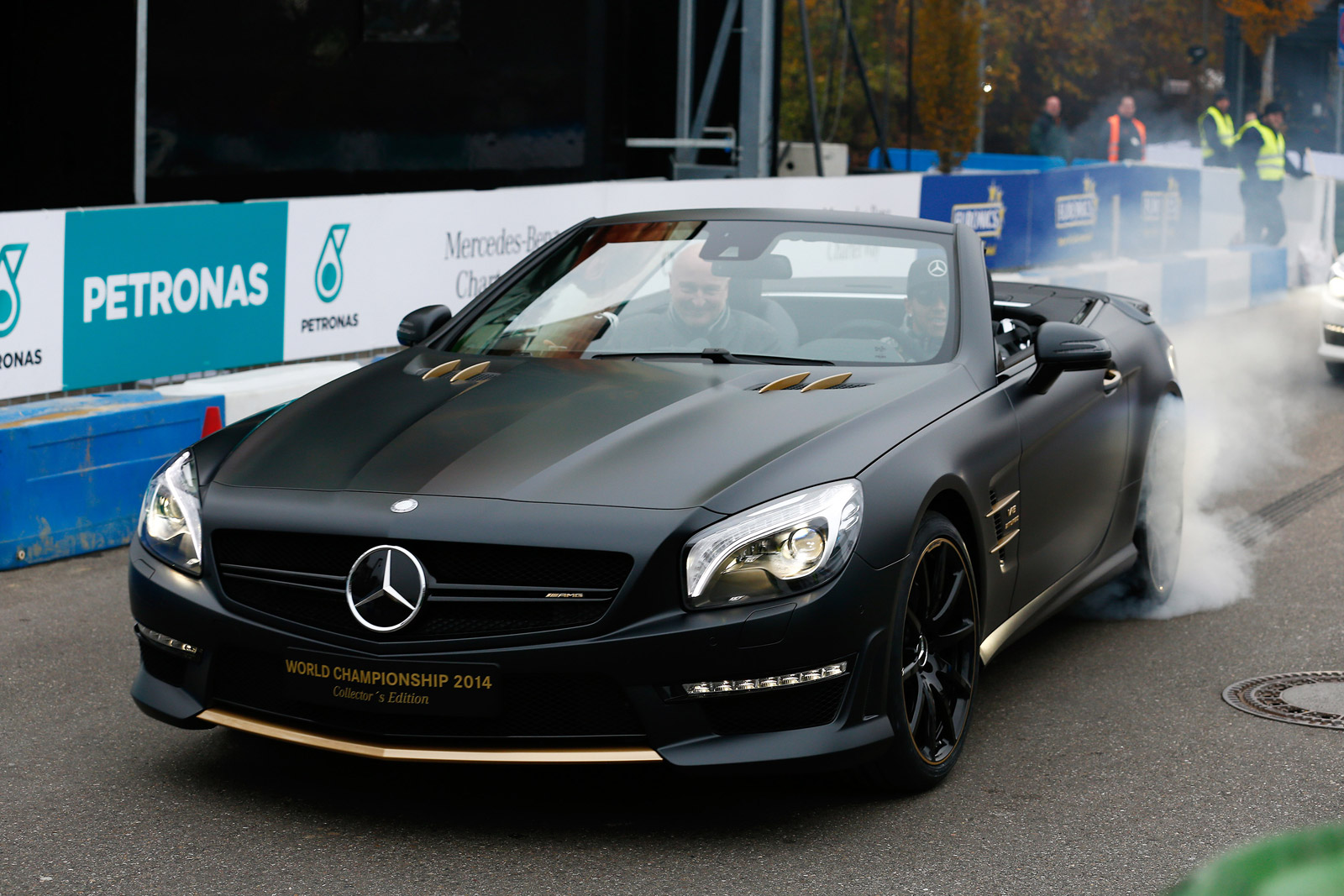 Mercedes Rolls Out Special SL63 AMGs Celebrating F1 Victory