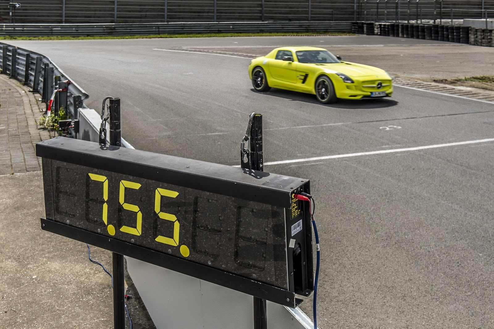 Electric SLS AMG Sets Nürburgring Record For A Production EV: Video