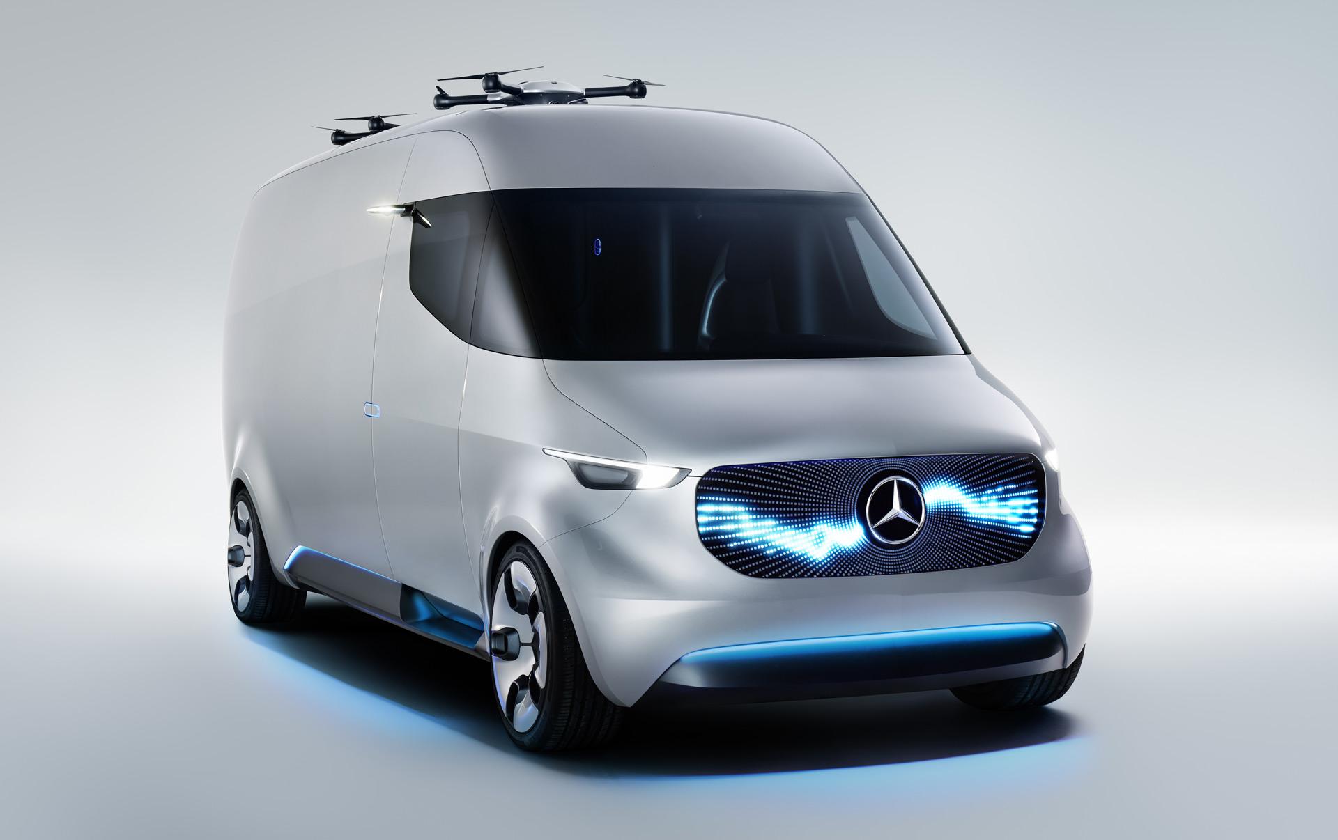 Mercedes previews next-gen Sprinter with Vision Van concept