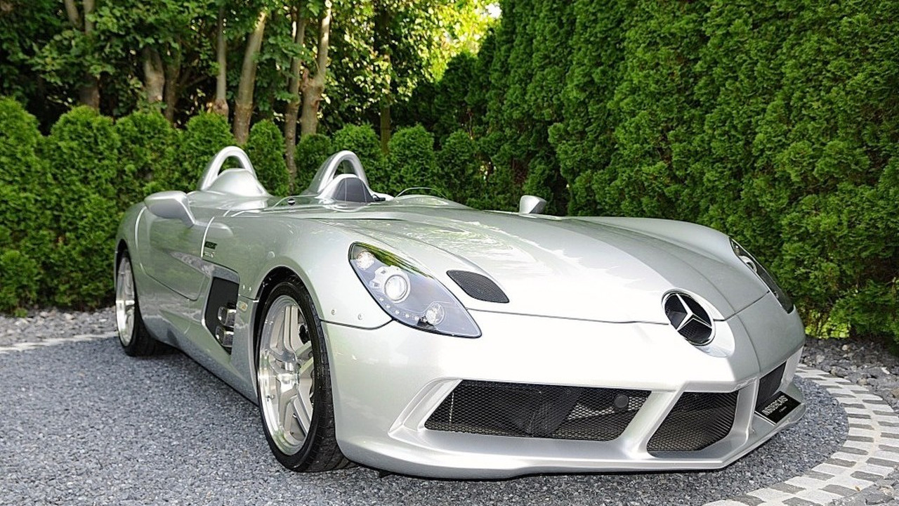 ultra rare mercedes slr stirling moss pops up for sale. Black Bedroom Furniture Sets. Home Design Ideas