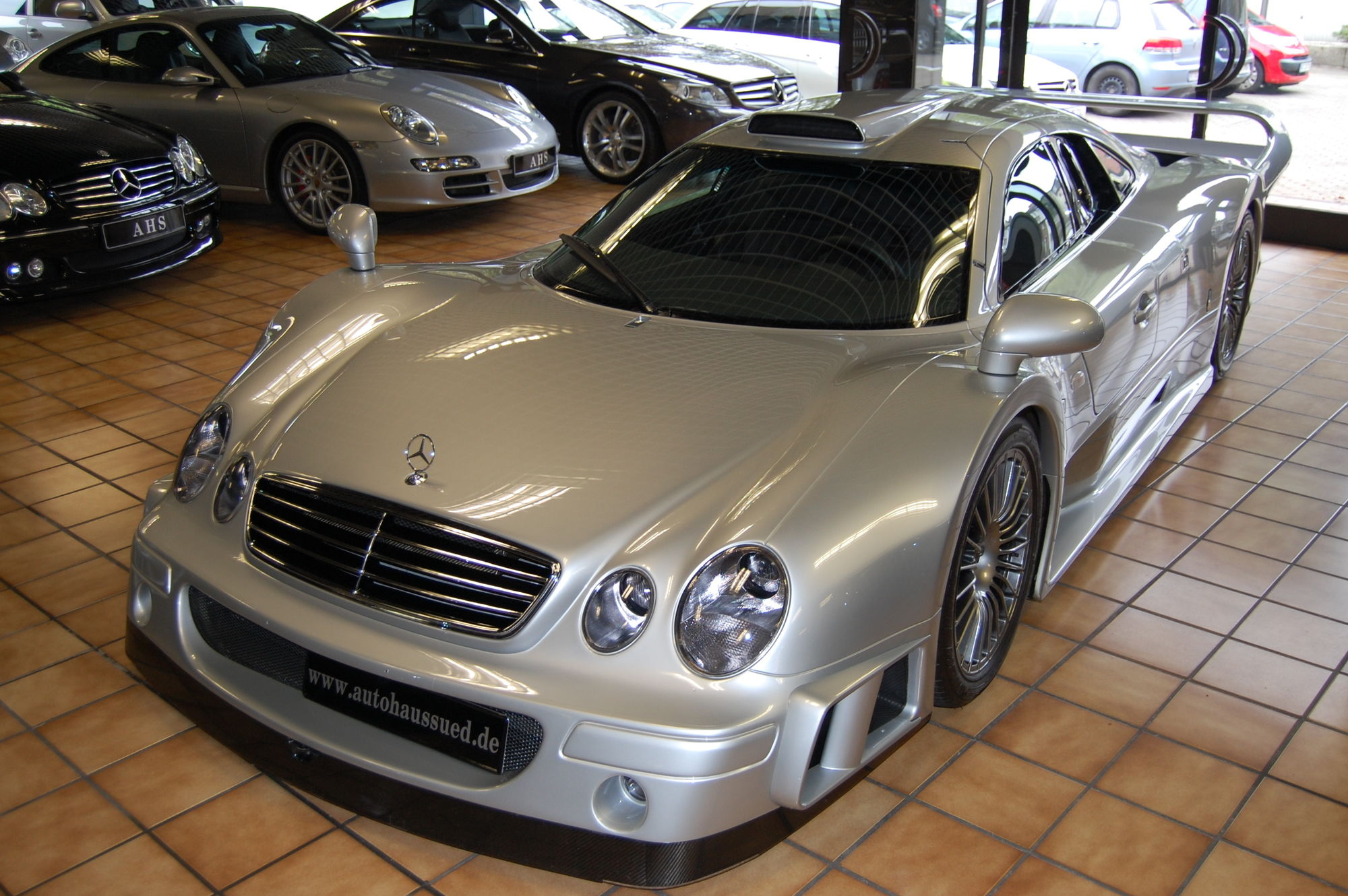 you can buy this mercedes benz clk gtr for 2 7 million