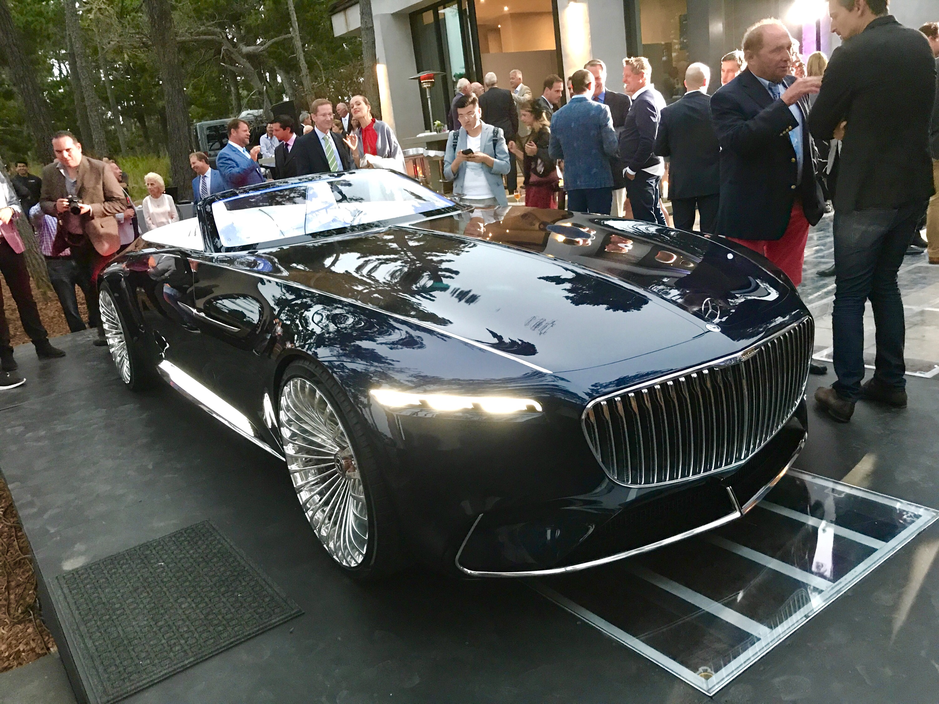 Vision Mercedes Maybach 6 Cabriolet Concept Does This Hood Make Me