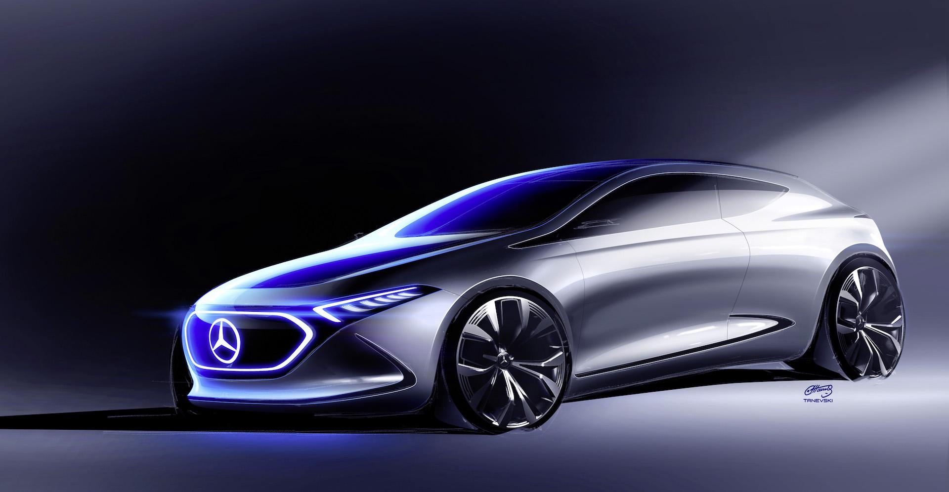 Tune in, Frankfurt: Mercedes-Benz's EQA electric car ...
