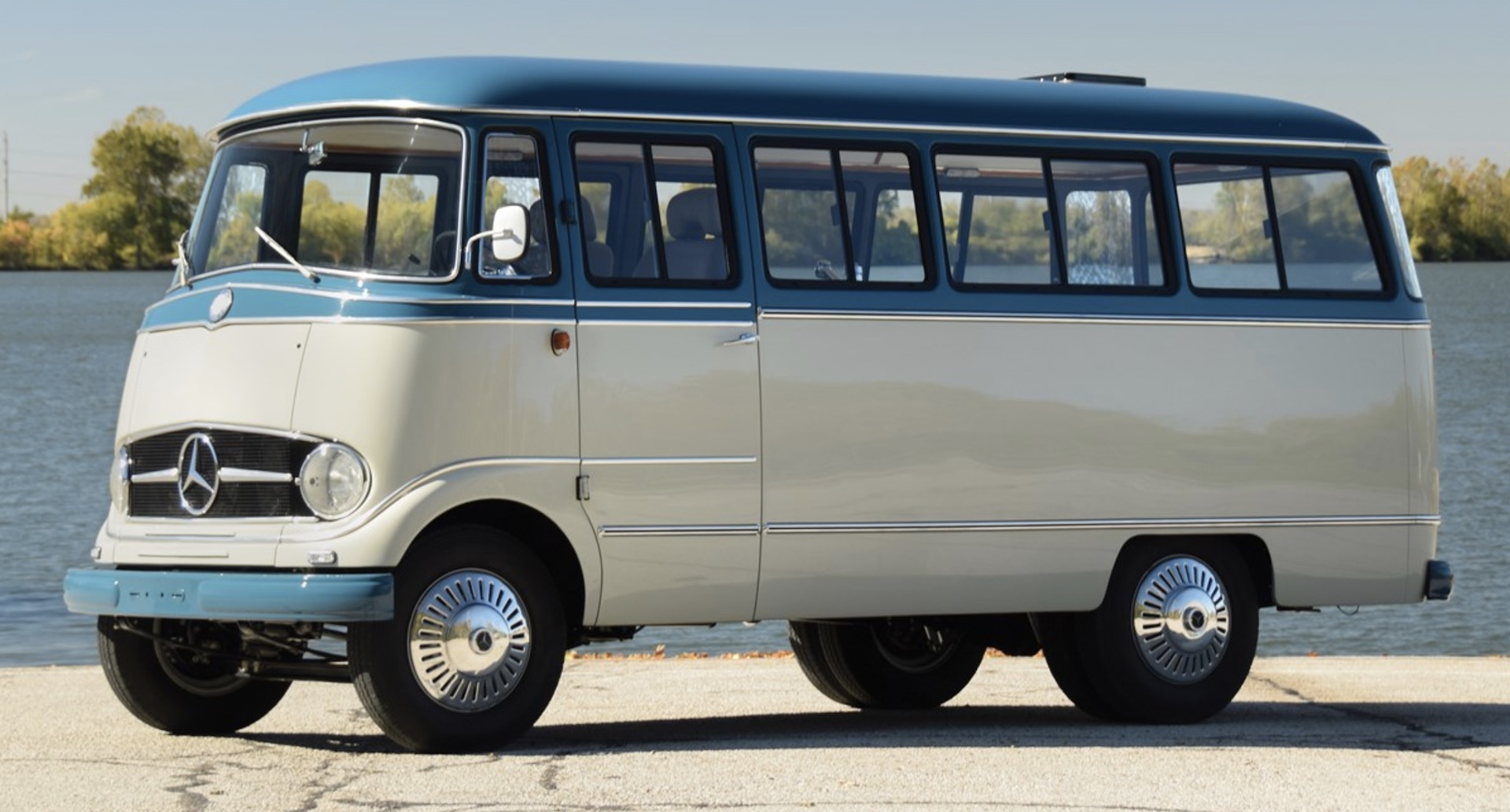 VW Microbus too common? This retro Mercedes bus may do the ...