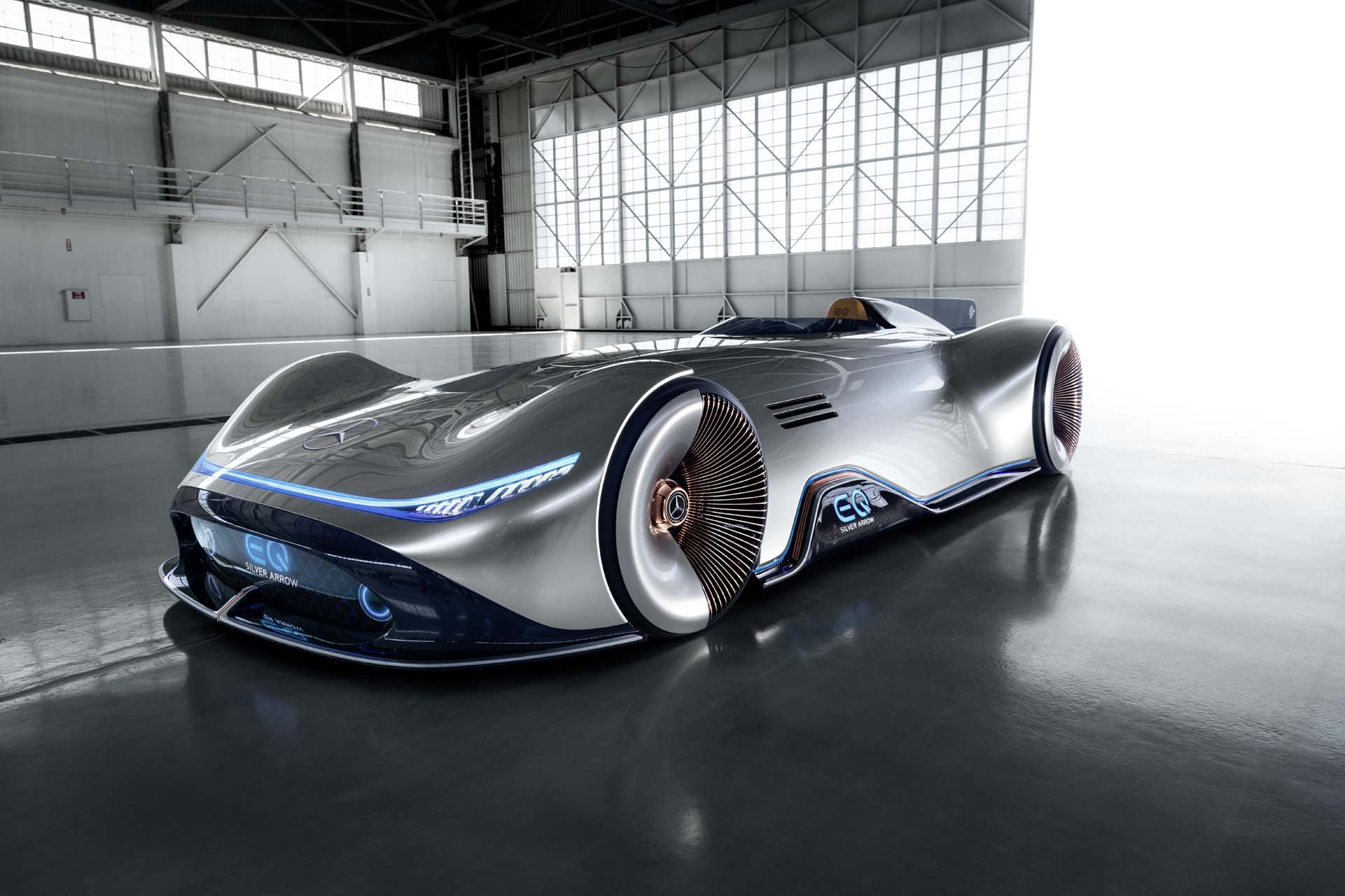 Mercedes Eq Silver Arrow Concept Is An Electric Streamliner With 738 Hp Of Grunt