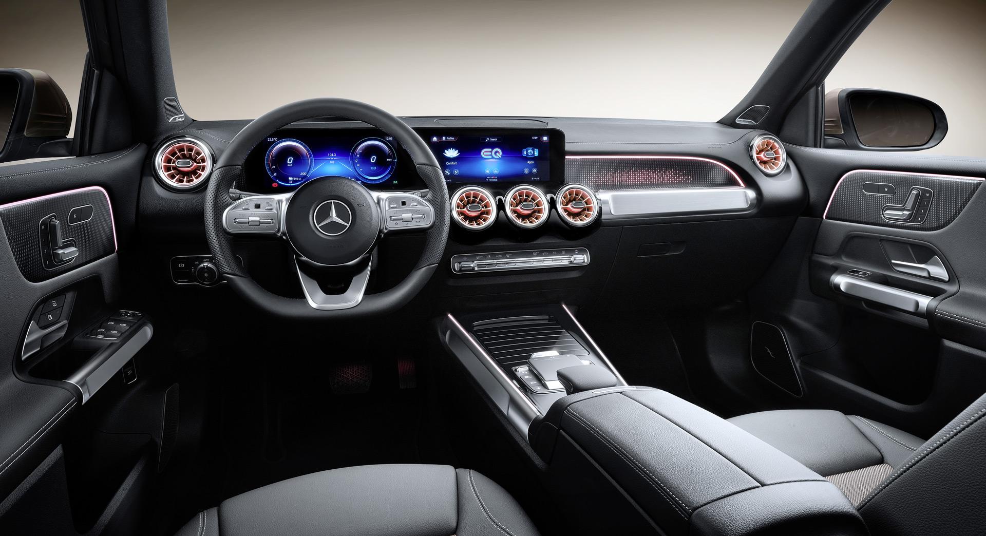 Mercedes-Benz EQB (thông số kỹ thuật của Trung Quốc)