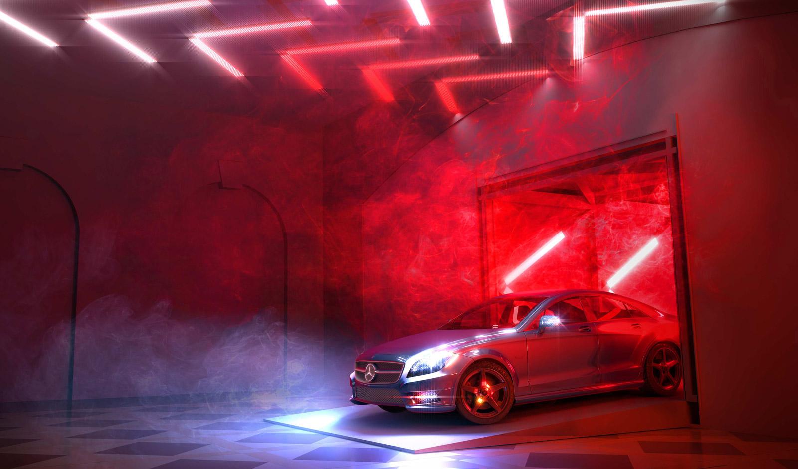 Mercedes Sets Up Drive Thru Restaurant In London Hotel