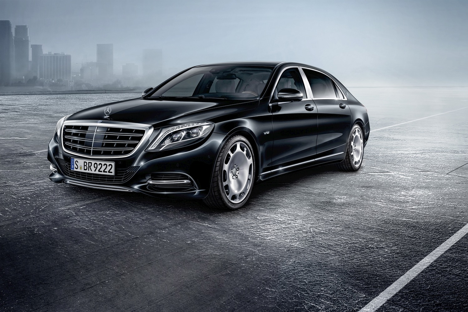 2017 Mercedes Maybach S600 Guard Gets You Through A War Zone In Style