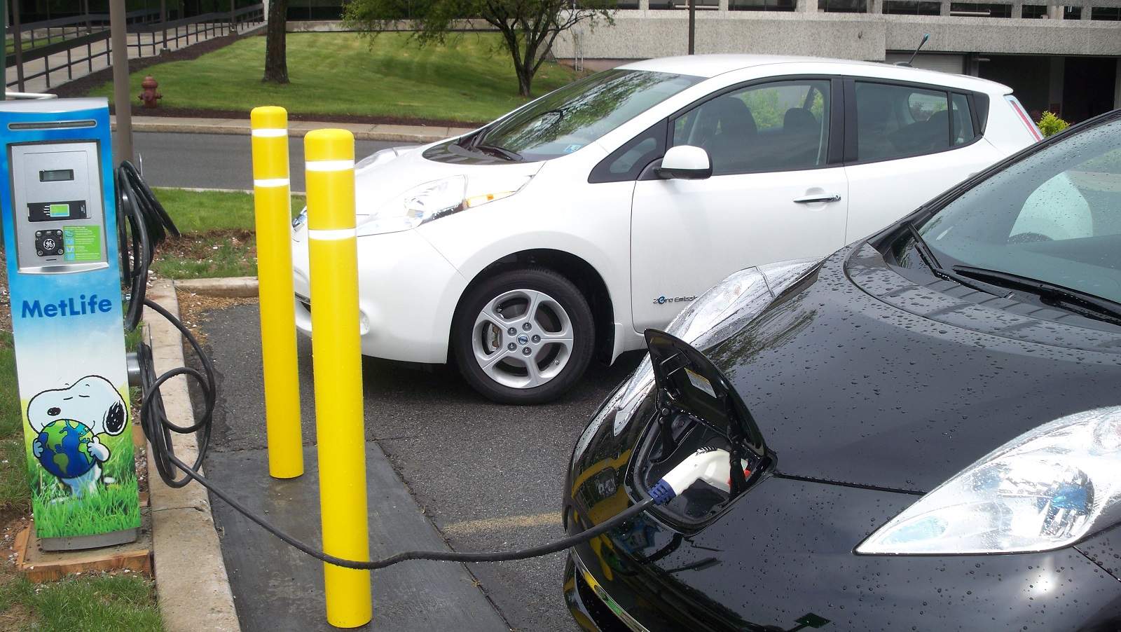 Scrap Car Buyers >> Electric-Car Charging Station Blocked? Get An Extension Cord!