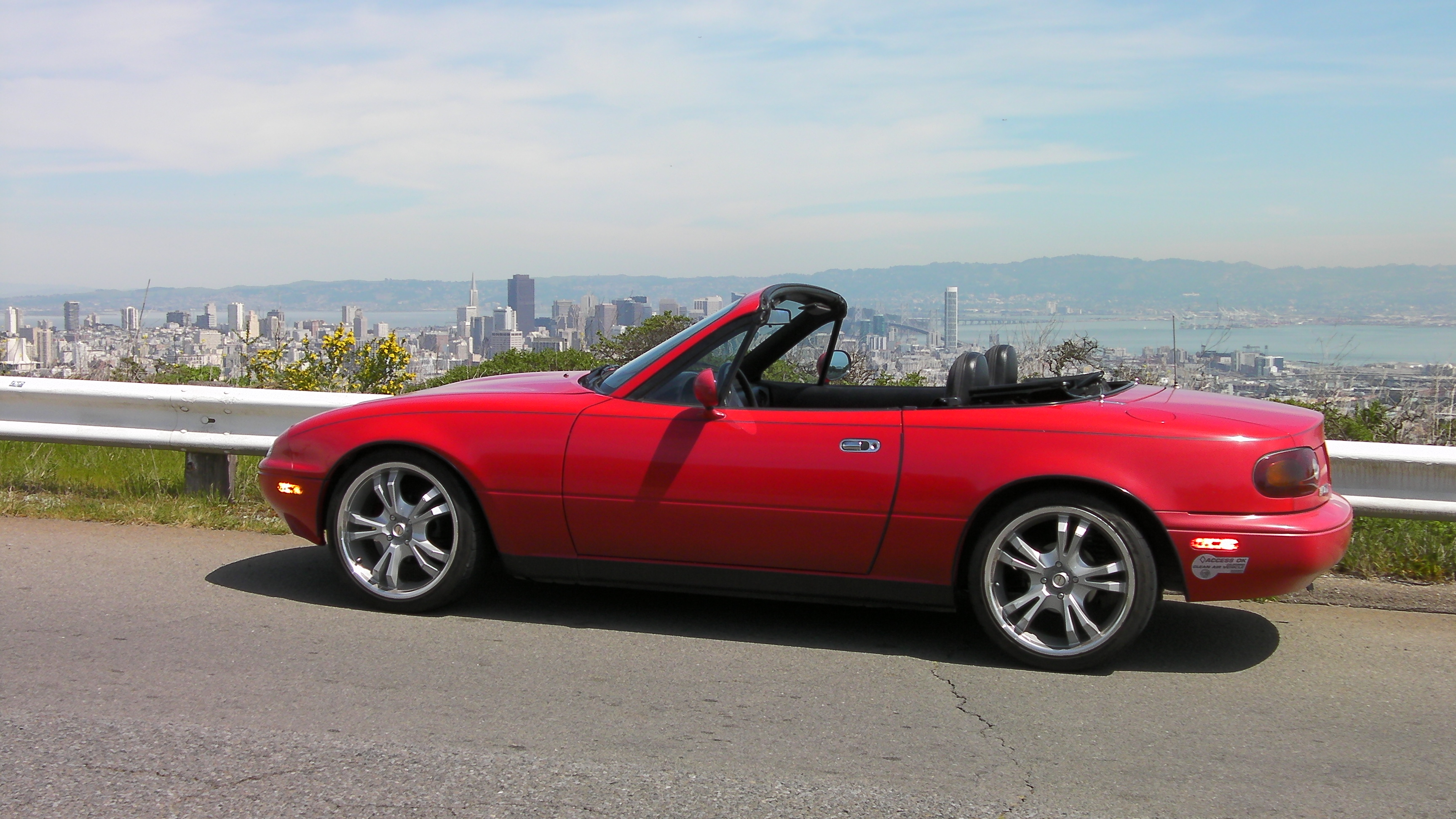 Tesla Fun For THINK Prices? The EV Mazda Miata Conversion
