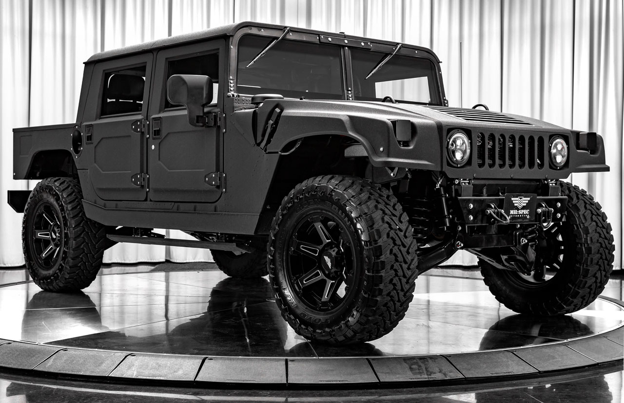 Mil-Spec Hummer H1 Launch Edition #007 is a baja-ready luxury pickup