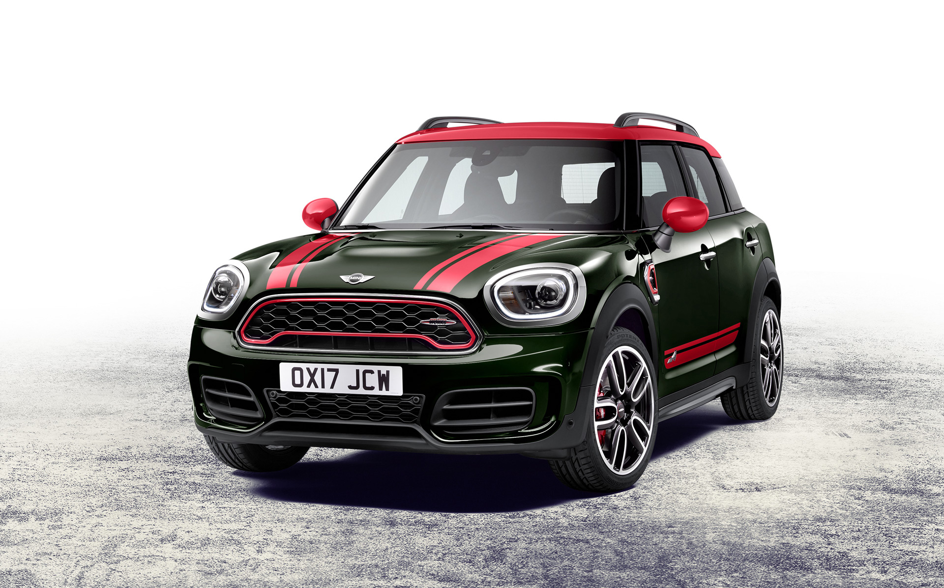 2018 mini john cooper works countryman revealed ahead of 2017 shanghai auto show. Black Bedroom Furniture Sets. Home Design Ideas
