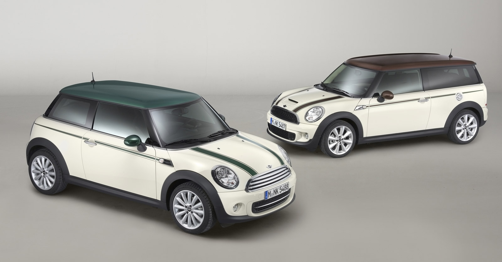 MINI Green Park And MINI Clubman Hyde Park Make Debut