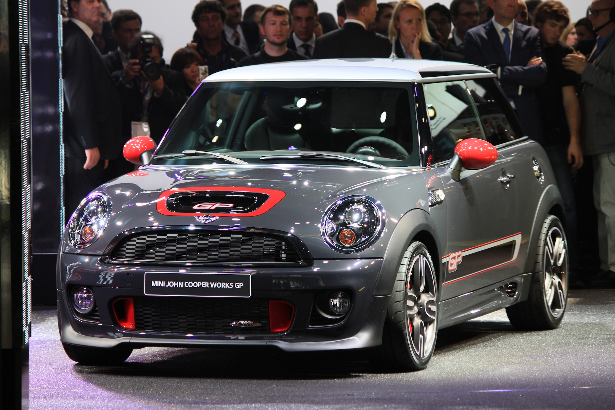 2013 Mini John Cooper Works Gp Live Photos 2012 Paris Auto Show