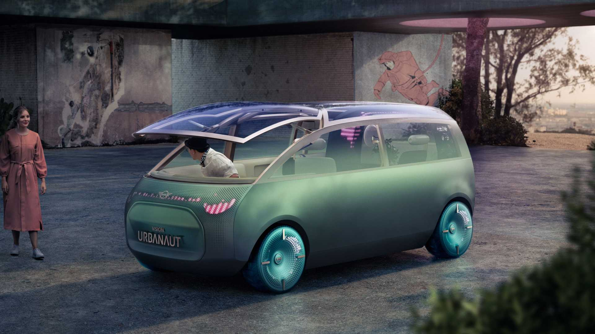 Mini gives us its take on the self-driving pod with the Vision Urbanaut concept