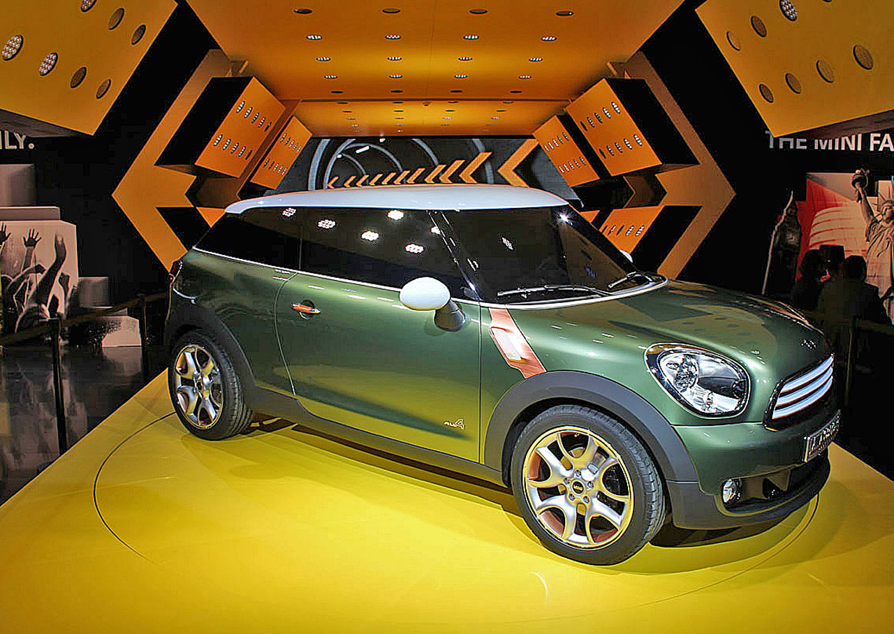 Minis Paceman Concept To Be Called Countryman Coupe Report