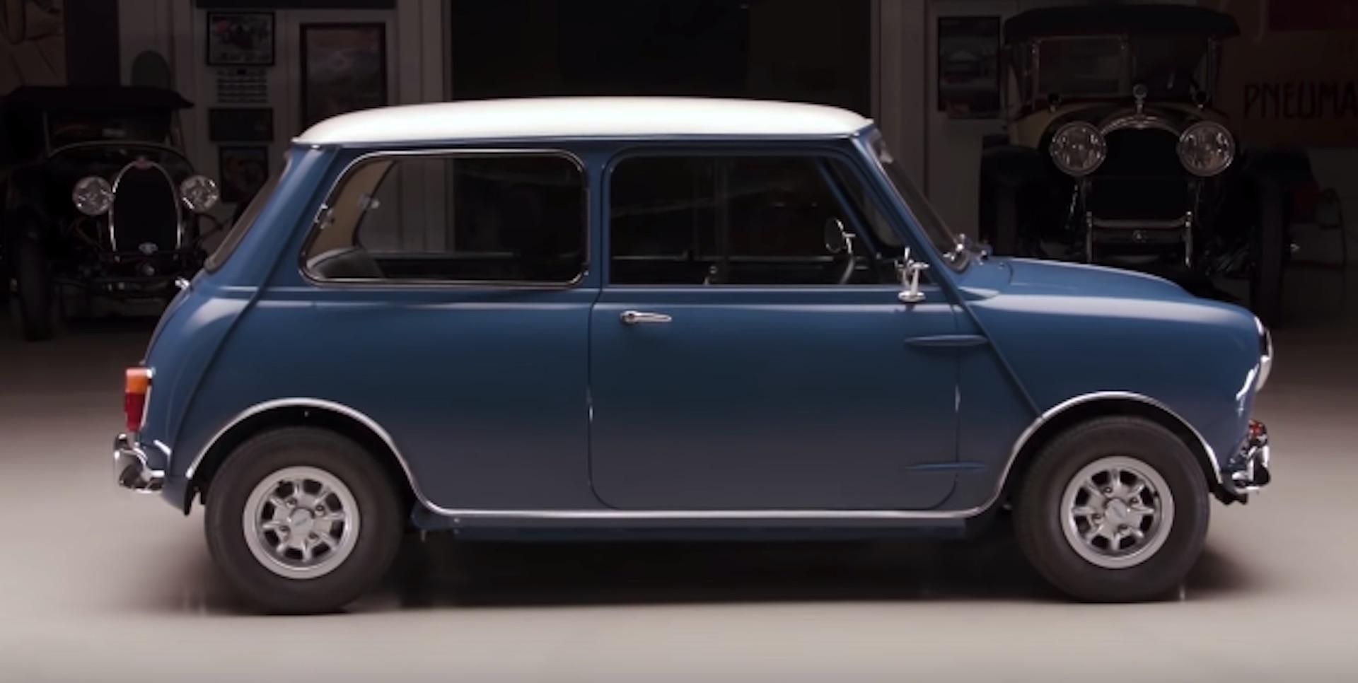 1965 Morris Mini Minor Scoots Into Jay Leno S Garage