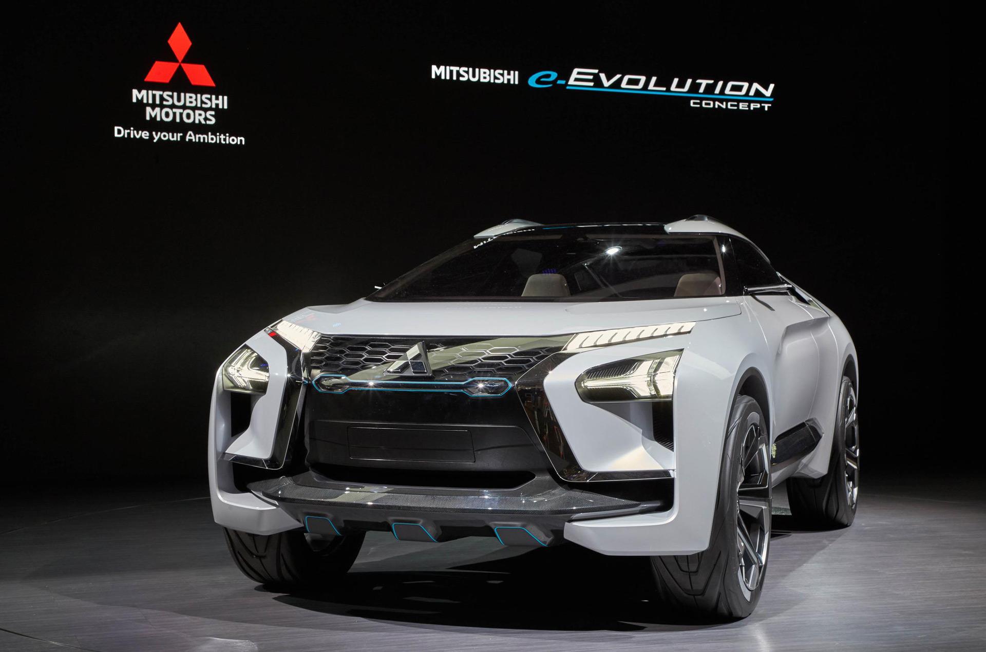 Mitsubishi e-Evolution concept debuts in Tokyo, ushers in ...