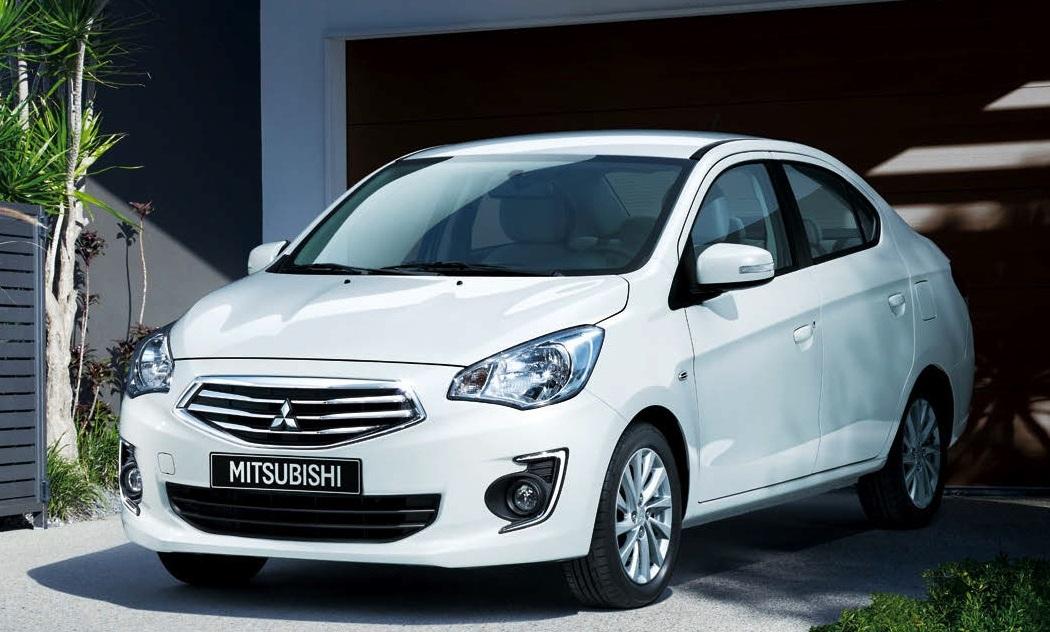 strong-selling 40-mpg mitsubishi mirage to get sedan model