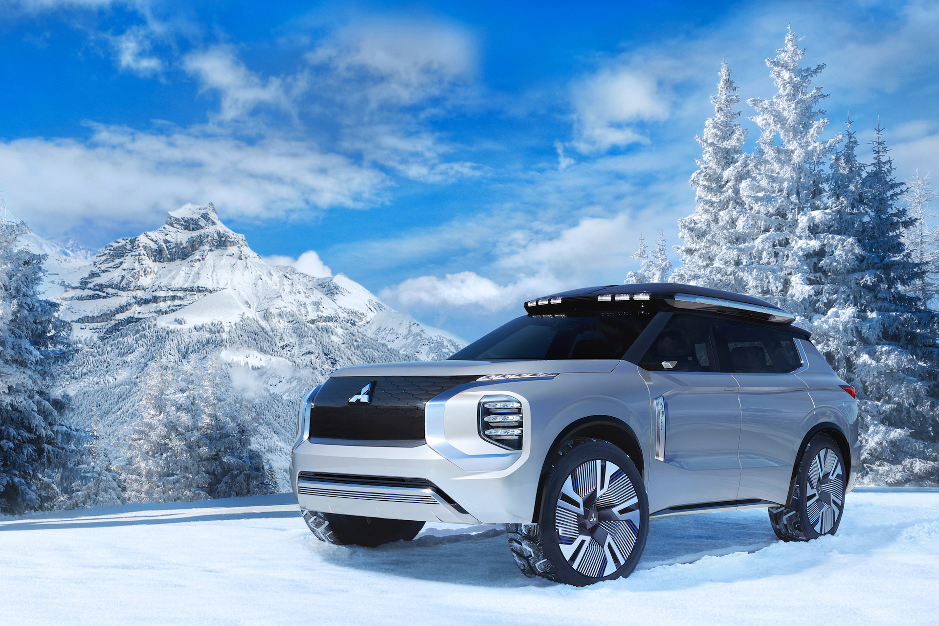 Mitsubishi Engelberg Suv Concept May Preview Outlander Phev Replacement