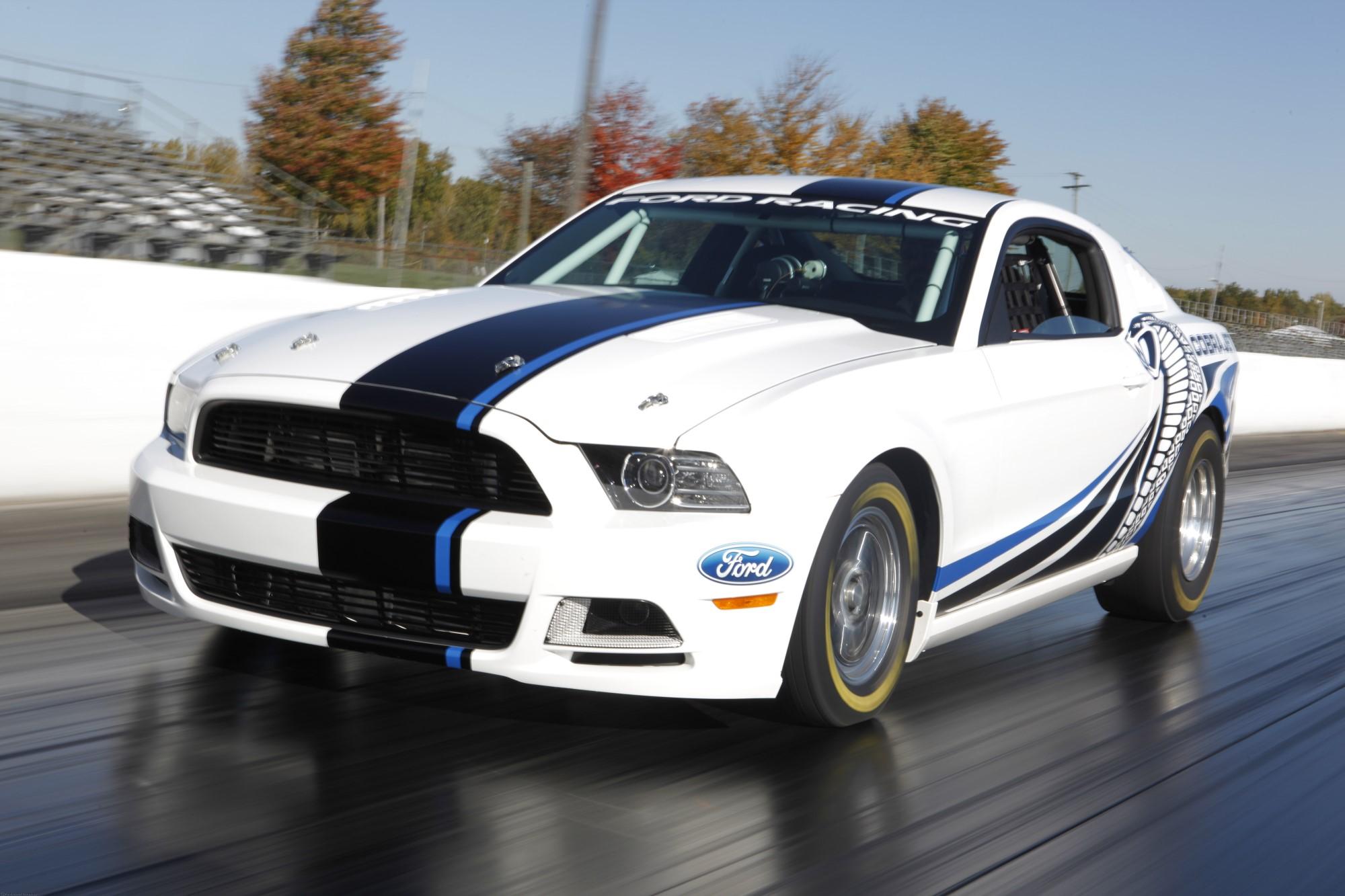 Ford Mustang Cobra Jet Gets Twin Turbos: SEMA 2012