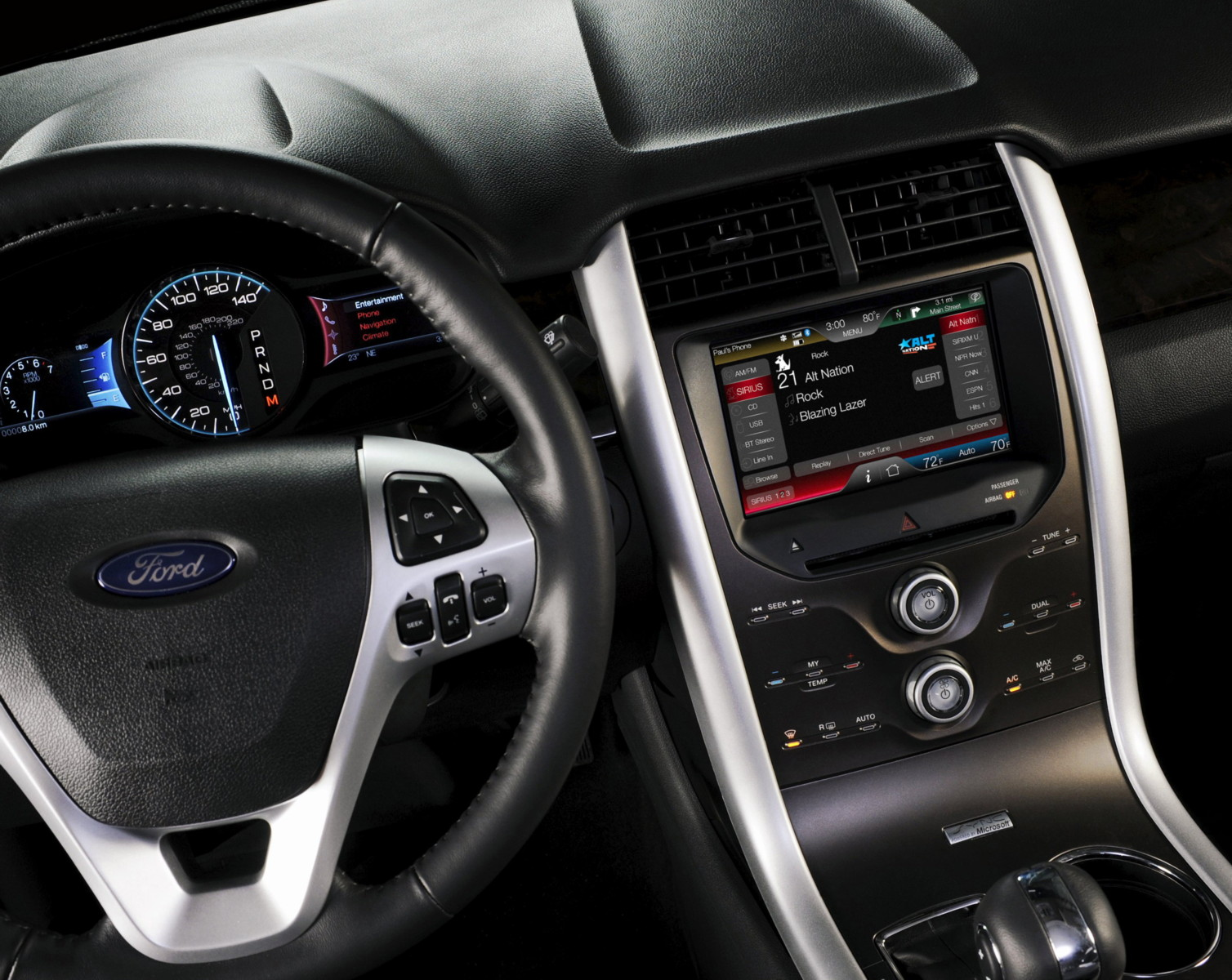 Ford Unveils Iphone Inspired Myford And Mylincoln Interface Systems