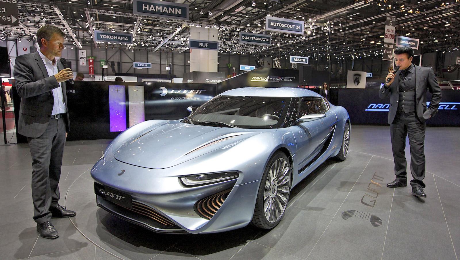 Quant Limousine Concept Pioneers Flow Cell Power Unit At