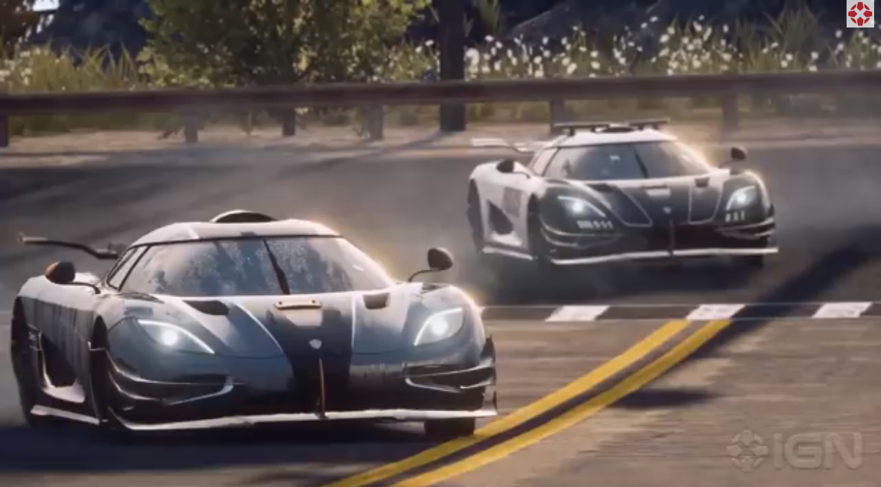 Koenigsegg One1 Gets Sideways In Need For Speed Rivals Trailer Video
