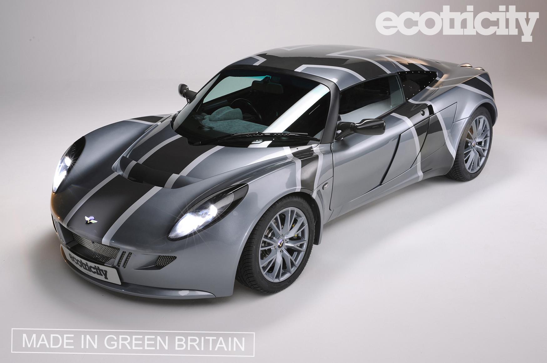 tesla 39 s nemesis electric lotus based sports car from u k. Black Bedroom Furniture Sets. Home Design Ideas