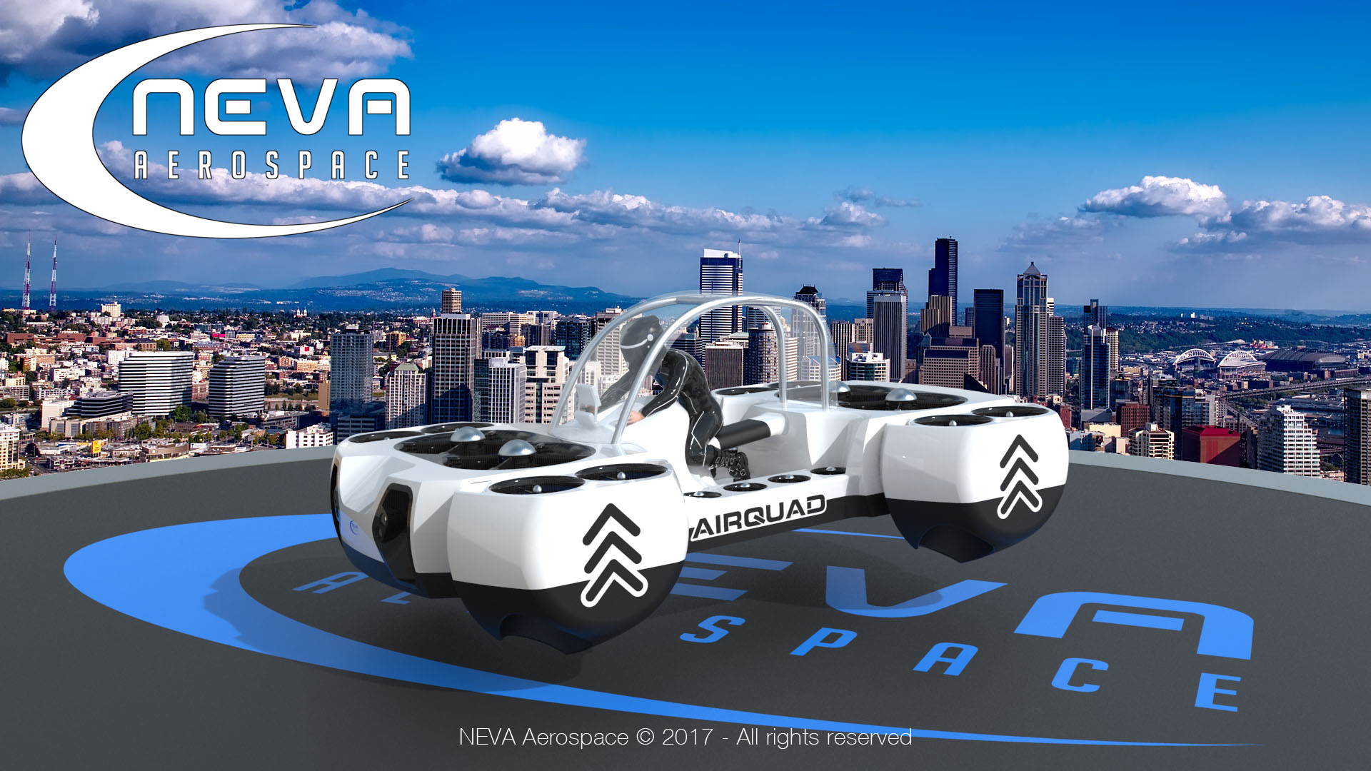 New Flying Car Concept Seeks To Revolutionize Personal