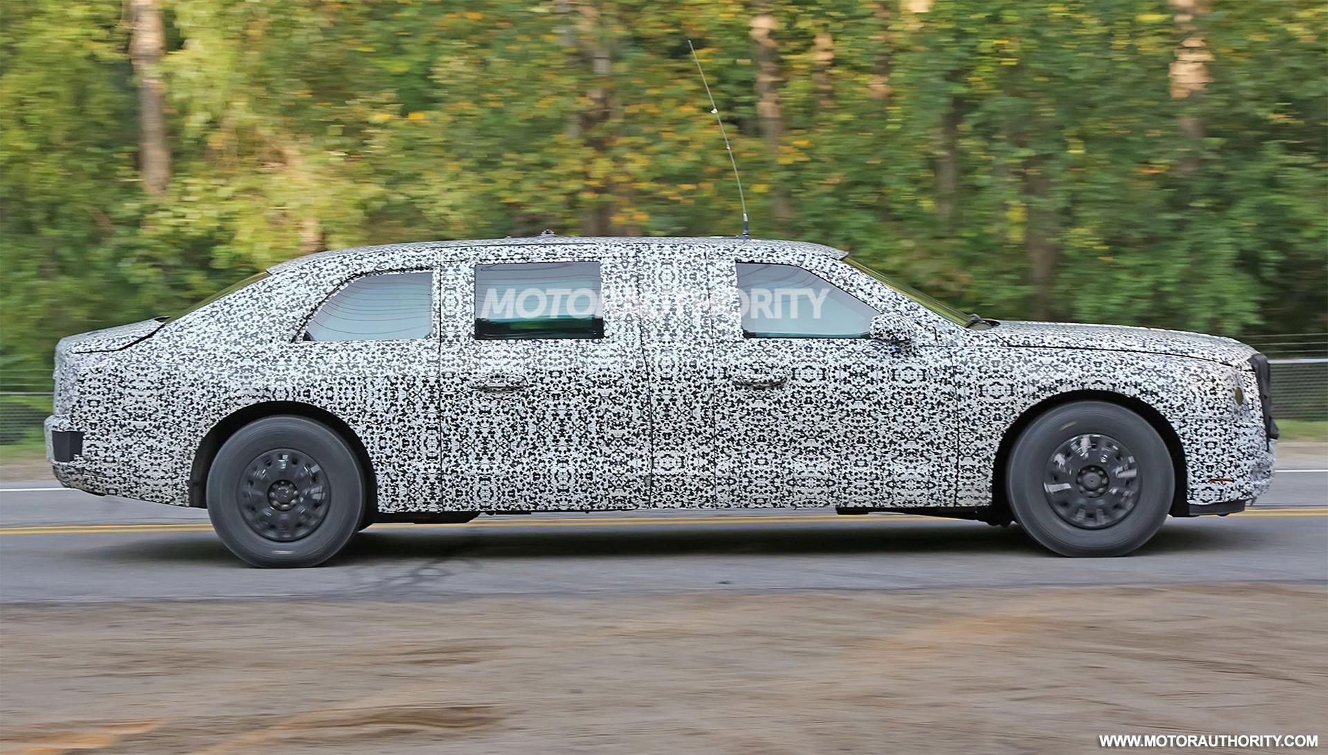 Mitsubishi Evo Concept Cadillac Beast Limo Wide Body