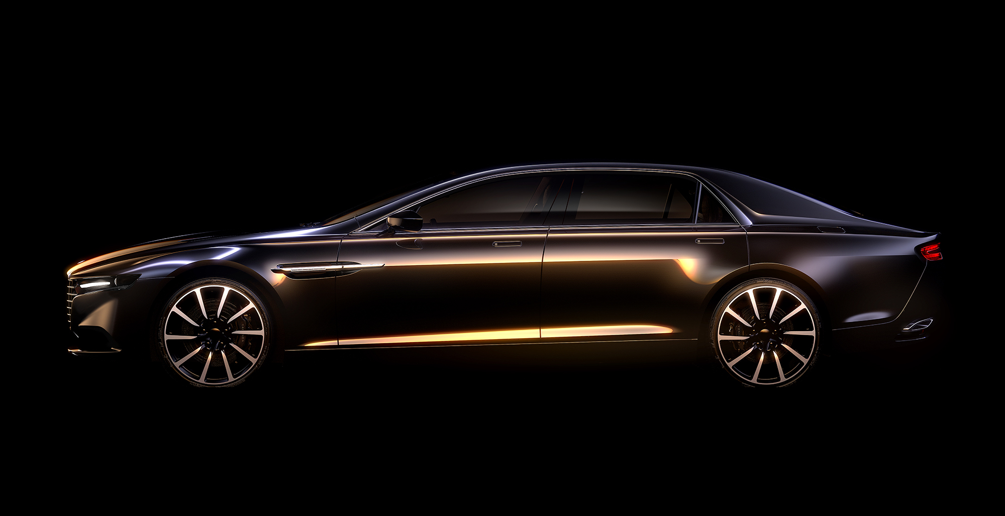 Aston Martin Lagonda Previewed, Confirmed For 'Strictly Limited' Production