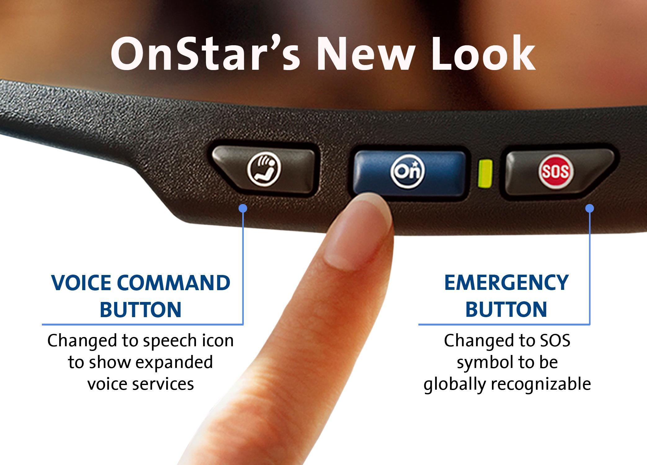 Onstar Mirror Gets A Minor Makeover
