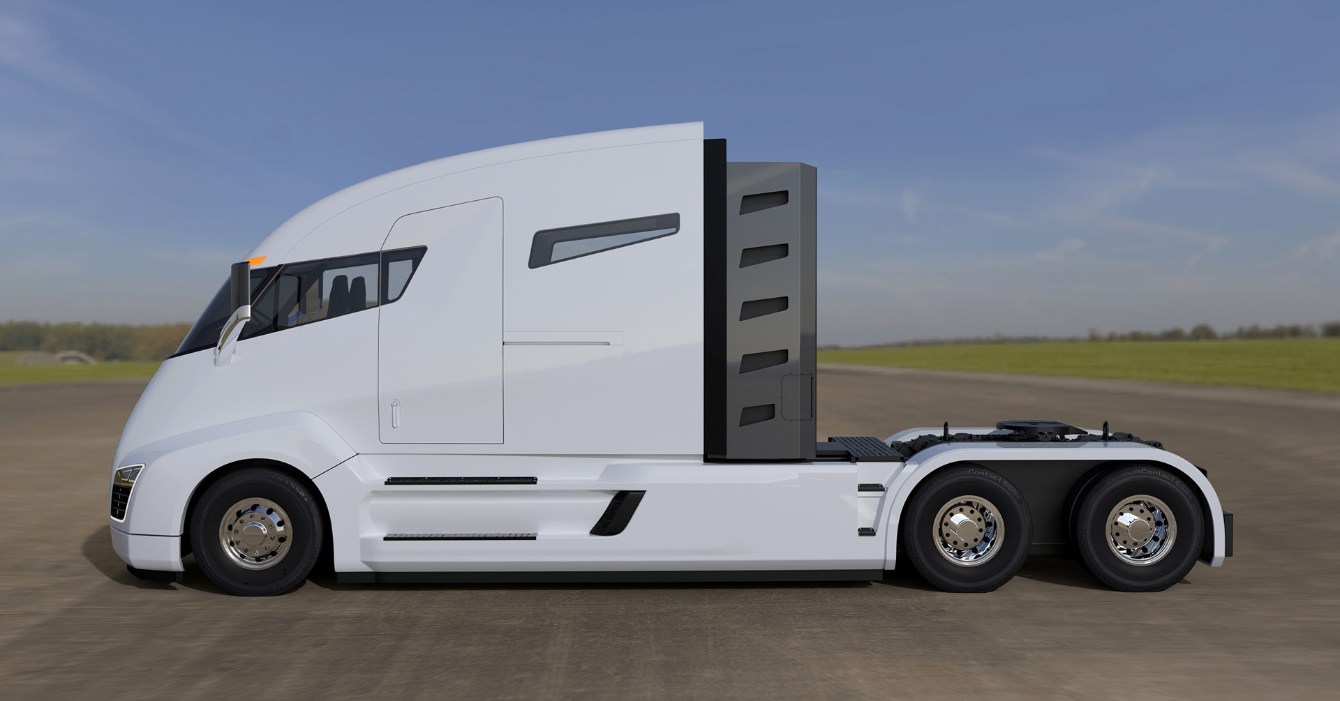 2 000 hp nikola one electric truck racks up thousands of