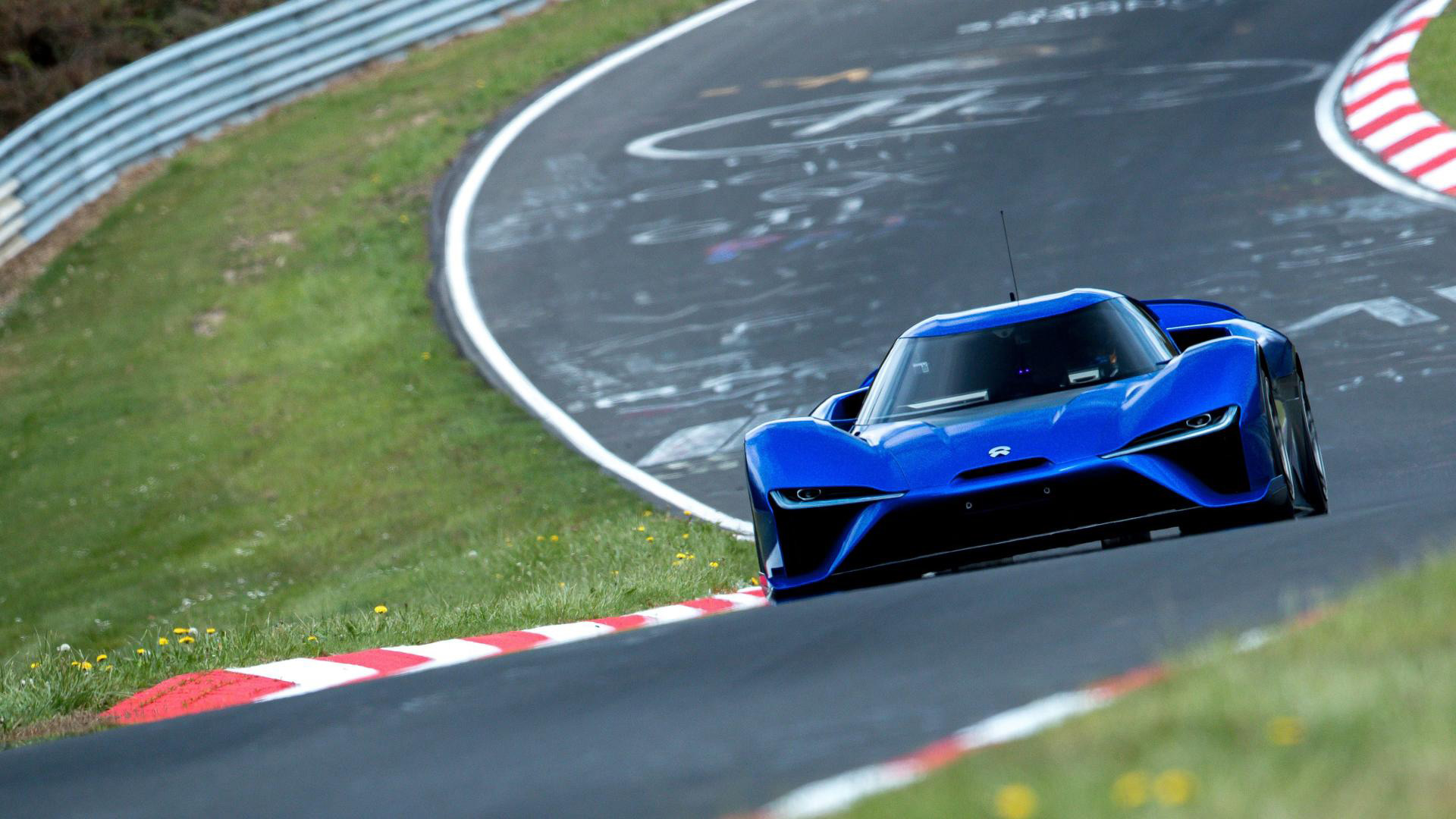Nio EP9 sets EV Nürburgring record with 6:45 9 blast