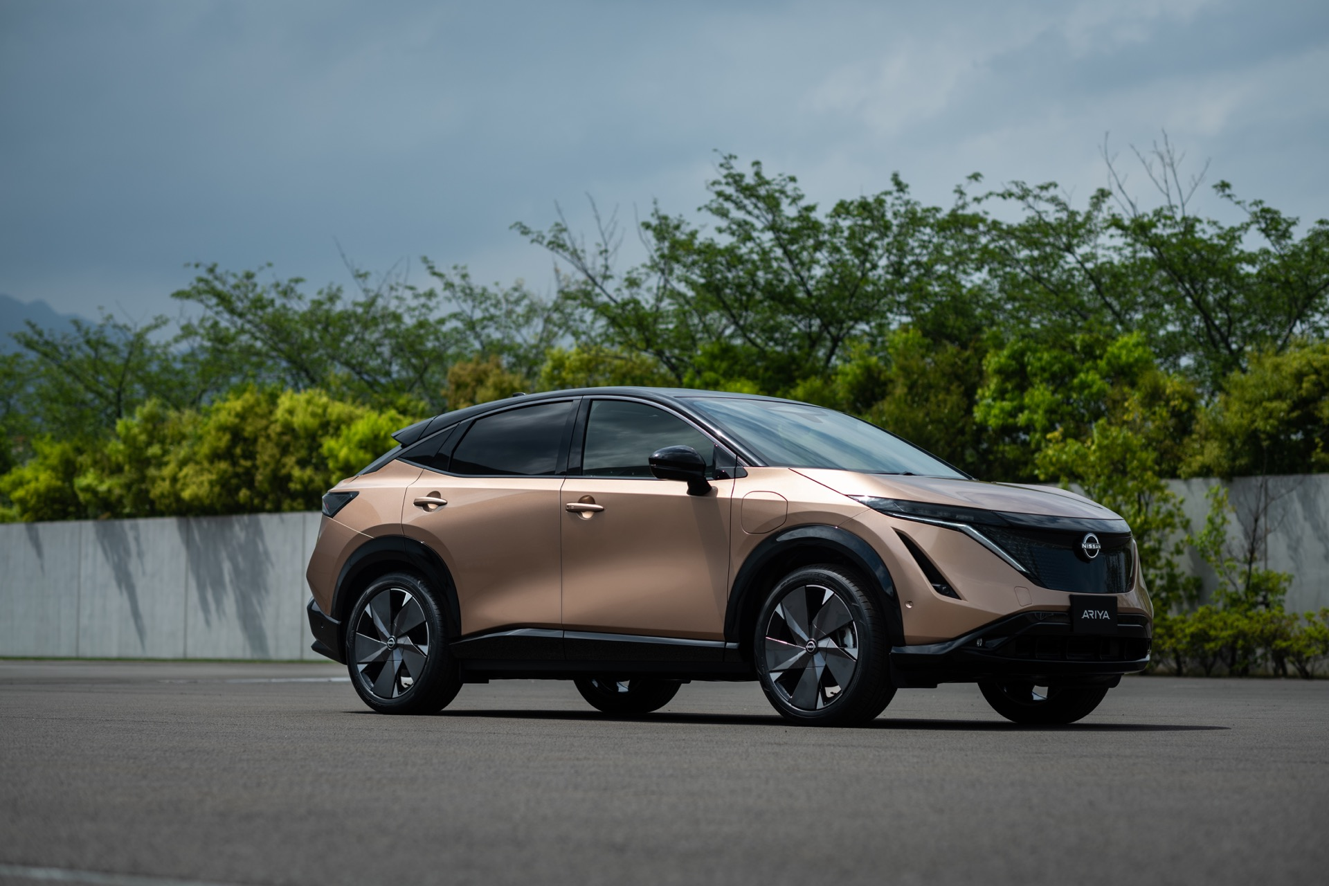 Nissan Teases Potential Of Ariya Electric Crossover For Europe As Us Election Nears